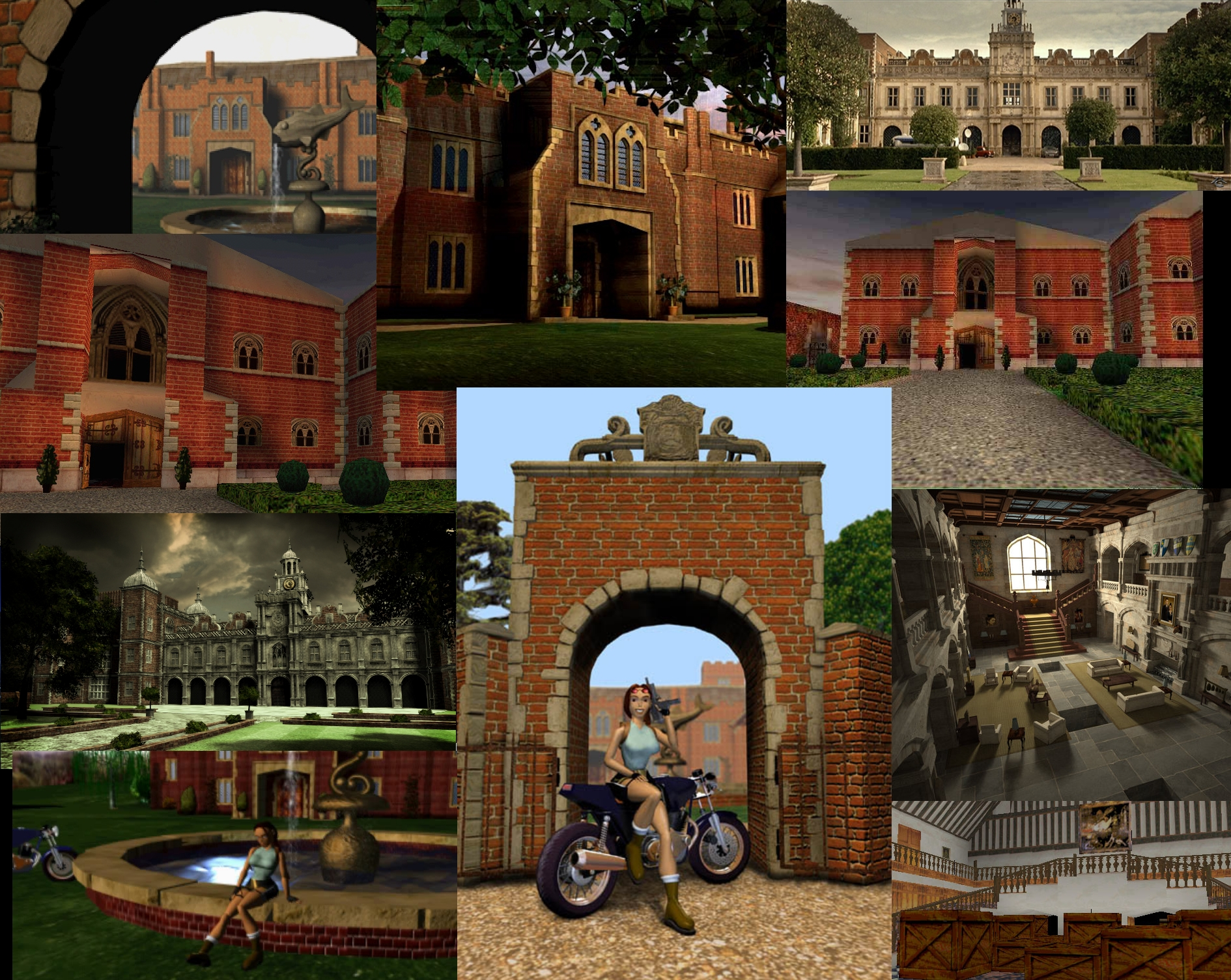 Do you want to see Lara's manor (mansion) back in TR10 or later